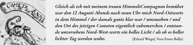 Erhard Weigel_Komet